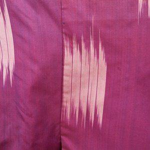 1940s Purple Silk Kimono Japanese